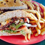 Fiesta burger special