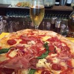 Great pizza, with a Peroni, what more could you ask for?