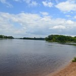 Wisconsin River on 7 1 2014
