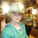 All ready for a trip down the Mine and back in time,