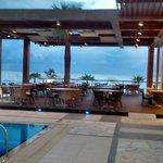 View towards Beach restaurant area