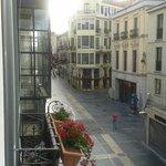 Desde el balcón de la habitación