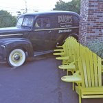 EXTERIOR with WOODIE