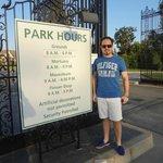 Horários do parque