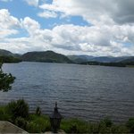 Lake Ullswater view from the Dining Room & Hotel Terrace