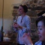 Tour at La Rasina winery