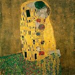 Gustav Klimt : Kiss