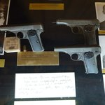 Some of the weapons used by the conspirators