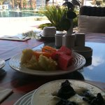 """After few days """"full"""" breakfast, I chose the light stuff :) ... Everything is spotless"""