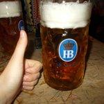 1 litre beer! 8 Euros