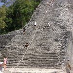 Pirámide en Coba