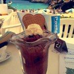 sundaes at the resort snack bar