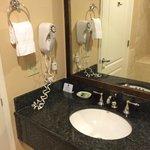 Sink with Bath & Body Works toiletries