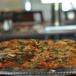 Garlic Pizza at Angela's
