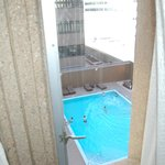 Pool view from 9th floor Tower
