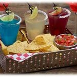 New Margarita Basket with Chips & Pico