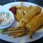 2 piece Haddock and chips