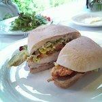 Fried chicken sandwich ...so good !