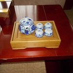 in room tea set