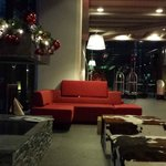 Hotel Lobby Christmas Decorations