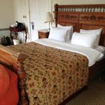 Lovely double bed