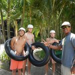 Waterslide instruction from Don.