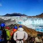 Ingresando al Glaciar