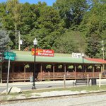 View of Anthony's Restaurant from Depot Station!