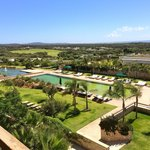 Natural hotel pool, golf course, peaceful location