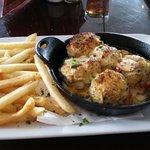 Seafood stuffed shrimp
