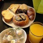 Part of breakfast