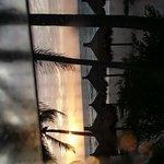 Sunrise from cabana # 2