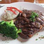 Fireside Steak!