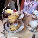 Our lovely cream tea