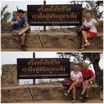 A proof of our climb to the top of Phu Kradueng.