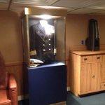 Suit in captains quarters