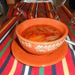 Sopa de tomate tipica da Madeira