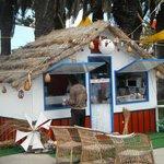 Casa tipica da Madeira com comercio