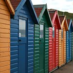 Whitby Beach Huts © Gianpiera Conti Photography
