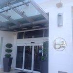 Hotel main entrance.
