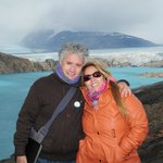 Increíble!! azul turquesa del glaciar Upsala!!