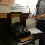THE ENIGMA MACHINE - BLETCHLEY PARK