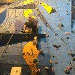 Mid climb - top rope