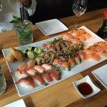 50 bitar deluxe sushi