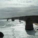 Twelve Apsotles rock formation on the Great Ocean Road Tour