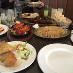 Dinner @ Sanam's