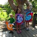 Tuesday craft project tie dye tshirts