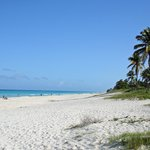 The beach is just a 5 min walk away