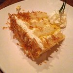 Small Version of Pina Colada Cake = $6 and plenty for 2 people