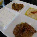 Mediterranean Sampler appetizer